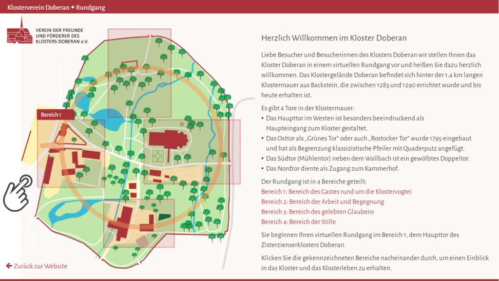 Kloster Bad Doberan - Starten Sie hier den Rundgang
